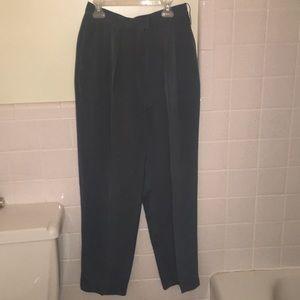100% SILK JONES NEW YORK DRESS PANTS